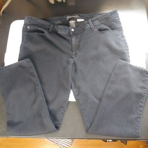 Source of Wisdom jeans size 24 London skinny
